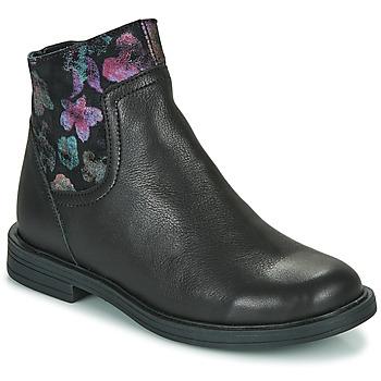 Boty Dívčí Kotníkové boty Little Mary ELIETTE Černá
