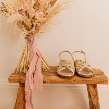 Boty Ženy Sandály Céleste ORANGER Zlatá