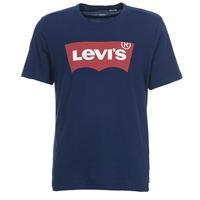 Textil Muži Trička s krátkým rukávem Levi's GRAPHIC SET IN Tmavě modrá