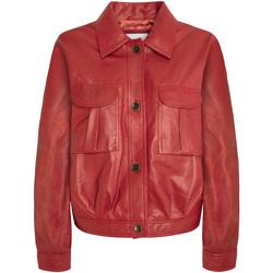 Textil Ženy Bundy Pepe jeans PL401838 Červené