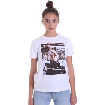 Textil Ženy Trička s krátkým rukávem Fracomina F120W03006J00139 Bílý