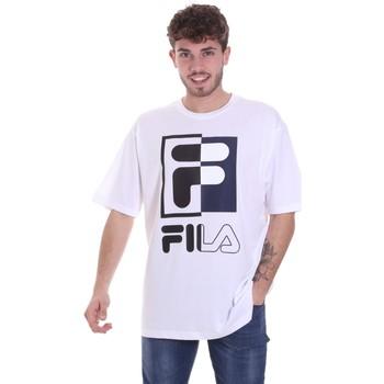Textil Muži Trička s krátkým rukávem Fila 687475 Bílý