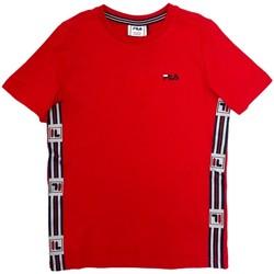 Textil Děti Trička s krátkým rukávem Fila 688118 Červené