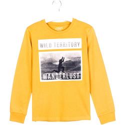 Textil Děti Trička s dlouhými rukávy Losan 023-1027AL Žlutá