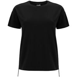Textil Ženy Trička s krátkým rukávem Freddy F0WSDT5 Černá
