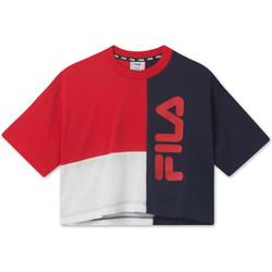 Textil Děti Trička s krátkým rukávem Fila 687998 Červené