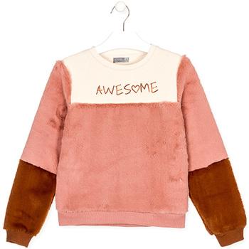Textil Děti Mikiny Losan 024-6019AL Béžový