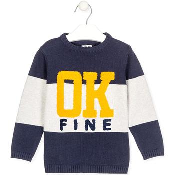 Textil Děti Svetry Losan 025-5005AL Modrý