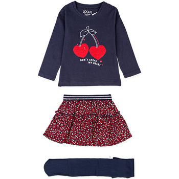 Textil Dívčí Set Losan 026-8023AL Modrý