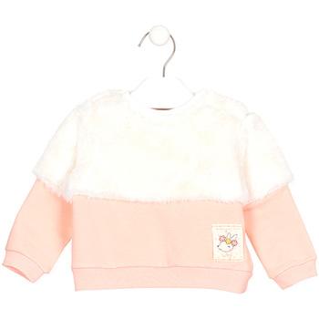 Textil Děti Mikiny Losan 028-6011AL Růžový