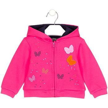 Textil Dívčí Mikiny Losan 028-6017AL Růžový