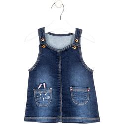 Textil Děti Overaly / Kalhoty s laclem Losan 028-7023AL Modrý