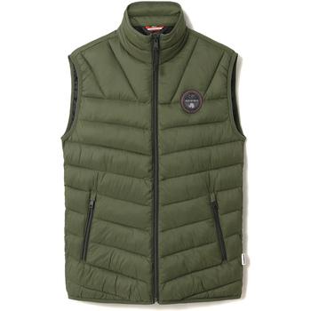 Textil Muži Prošívané bundy Napapijri NP0A4ENO Zelený