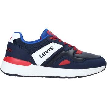 Boty Děti Nízké tenisky Levi's VBOS0021S Modrý
