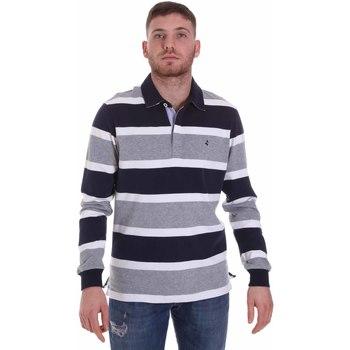 Textil Muži Polo s dlouhými rukávy Navigare NV30026 Modrý