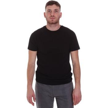 Textil Muži Trička s krátkým rukávem Sseinse MI1692SS Černá