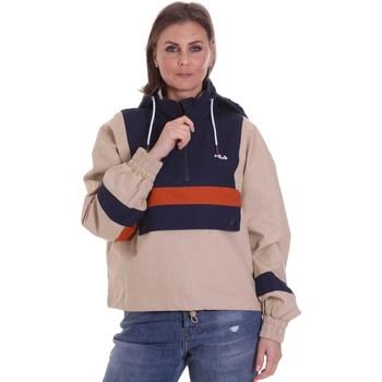 Textil Ženy Bundy Fila 687922 Béžový
