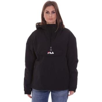 Textil Ženy Bundy Fila 687979 Černá