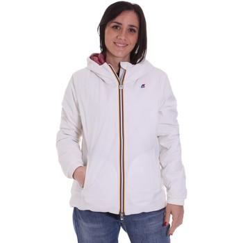 Textil Ženy Bundy K-Way K00A2F0 Bílý