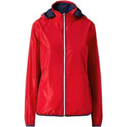 Textil Ženy Bundy Ea7 Emporio Armani 3ZTB03 TN18Z Červené