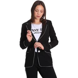Textil Ženy Saka / Blejzry Denny Rose 811DD30004 Černá