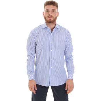 Textil Muži Košile s dlouhymi rukávy Les Copains 20P.623 P3196SL Modrý