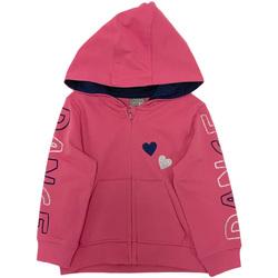 Textil Dívčí Mikiny Losan 026-6653AL Růžový