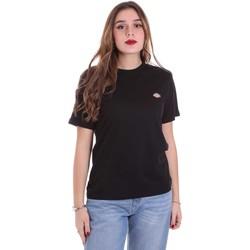 Textil Ženy Trička s krátkým rukávem Dickies DK0A4TMYBLK1 Černá