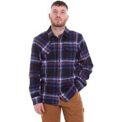 Textil Muži Košile s dlouhymi rukávy Dickies DK520352EL01 Modrý