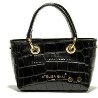 Taška Ženy Velké kabelky / Nákupní tašky Atelier Enai ROSI NOIR