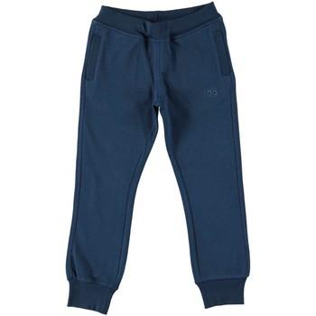 Textil Chlapecké Teplákové kalhoty Ido 4U186 Modrá