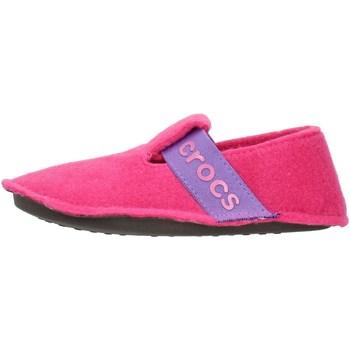 Boty Děti Papuče Crocs 205349 Růžová