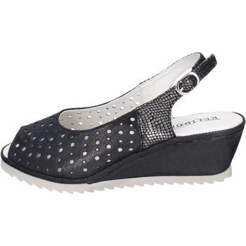 Boty Ženy Sandály Kelidon Sandály BJ354 Černá