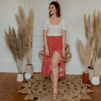 Textil Ženy Sukně Céleste TOURTERELLE Červená