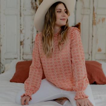 Textil Ženy Halenky / Blůzy Céleste HIRONDELLE Růžová