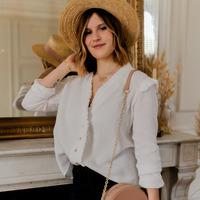 Textil Ženy Halenky / Blůzy Céleste ZEPHYR Bílá