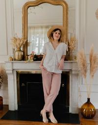 Textil Ženy Halenky / Blůzy Céleste MESANGE Bílá