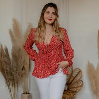 Textil Ženy Halenky / Blůzy Céleste ROSSIGNOL Červená