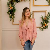 Textil Ženy Halenky / Blůzy Céleste ROSSIGNOL Růžová