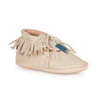 Boty Děti Papuče Easy Peasy MEXIMOO Béžová