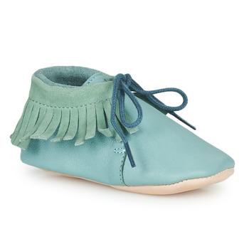 Boty Děti Papuče Easy Peasy MEXIMOO Zelená
