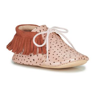 Boty Dívčí Papuče Easy Peasy MEXIMOO Růžová