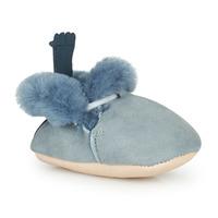 Boty Děti Papuče Easy Peasy MINIMOO Modrá
