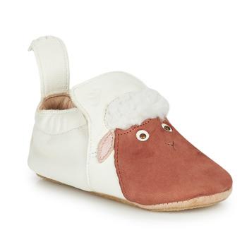 Boty Děti Papuče Easy Peasy BLUBLU MOUTON Bílá