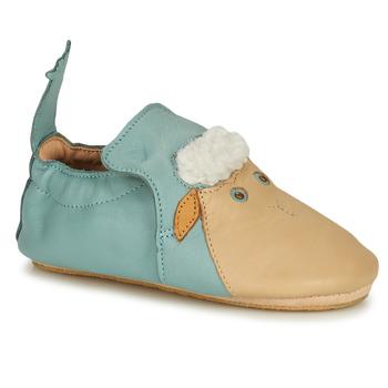 Boty Děti Papuče Easy Peasy BLUBLU MOUTON Modrá