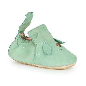 Boty Děti Papuče Easy Peasy BLUBLU CHIEN Zelená