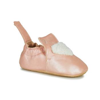 Boty Dívčí Papuče Easy Peasy BLUBLU COEUR Růžová