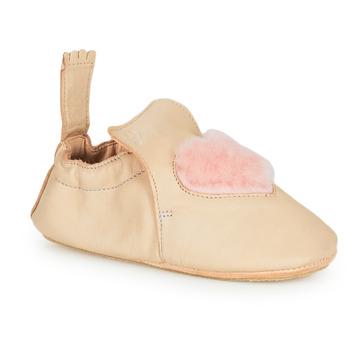 Boty Děti Papuče Easy Peasy BLUBLU COEUR Béžová