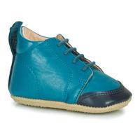 Boty Děti Papuče Easy Peasy IGO B Modrá