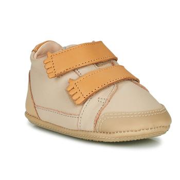 Boty Děti Papuče Easy Peasy IRUN B Béžová